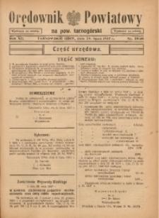 Orędownik Powiatowy na Powiat Tarnogórski, 1937, R. 12, nr29/30