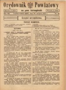 Orędownik Powiatowy na Powiat Tarnogórski, 1937, R. 12, nr35
