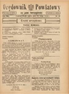 Orędownik Powiatowy na Powiat Tarnogórski, 1938, R. 13, nr19