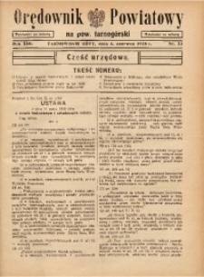 Orędownik Powiatowy na Powiat Tarnogórski, 1938, R. 13, nr22