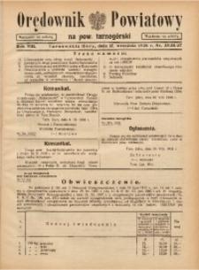 Orędownik Powiatowy na Powiat Tarnogórski, 1938, R. 13, nr35/36/37