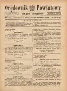 Orędownik Powiatowy na Powiat Tarnogórski, 1938, R. 13, nr44/45/46
