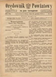 Orędownik Powiatowy na Powiat Tarnogórski, 1938, R. 13, nr51