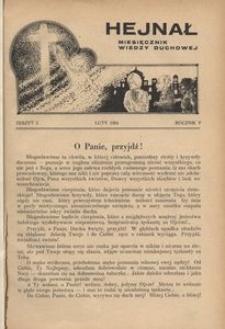 Hejnał, 1934, R. 6, z. 2