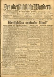 Der Oberschlesische Wanderer, 1920, Jg. 93, Nr. 40