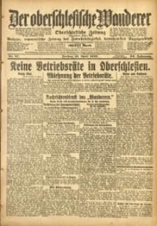 Der Oberschlesische Wanderer, 1920, Jg. 93, Nr. 87