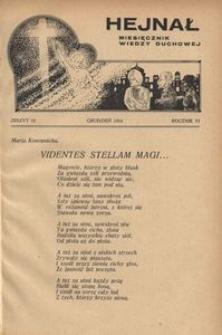 Hejnał, 1934, R. 6, z. 12