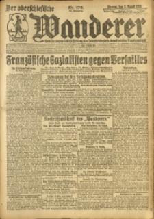 Der Oberschlesische Wanderer, 1920, Jg. 93, Nr. 176