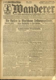 Der Oberschlesische Wanderer, 1920, Jg. 93, Nr. 184