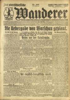 Der Oberschlesische Wanderer, 1920, Jg. 93, Nr. 186