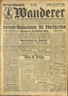Der Oberschlesische Wanderer, 1920, Jg. 93, Nr. 201