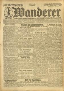 Der Oberschlesische Wanderer, 1920, Jg. 93, Nr. 217
