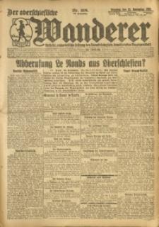 Der Oberschlesische Wanderer, 1920, Jg. 93, Nr. 218