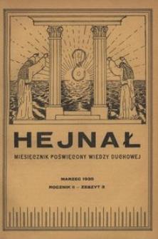 Hejnał, 1930, R. 2, z. 3