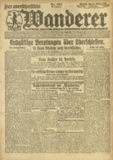 Der Oberschlesische Wanderer, 1920, Jg. 93, Nr. 237