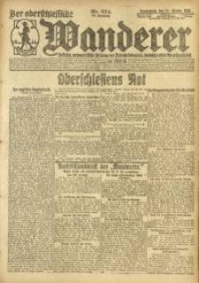 Der Oberschlesische Wanderer, 1920, Jg. 93, Nr. 244