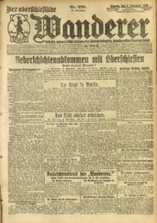 Der Oberschlesische Wanderer, 1920, Jg. 93, Nr. 258
