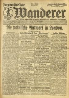 Der Oberschlesische Wanderer, 1920, Jg. 93, Nr. 289