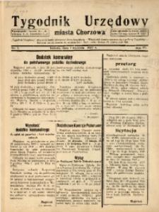 Tygodnik Urzędowy Miasta Chorzowa, 1937, R. 4, nr 1