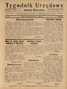 Tygodnik Urzędowy Miasta Chorzowa, 1937, R. 4, nr 3