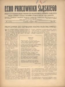 Echo Pracownika Śląskiego, 1927, R. 8, nr7