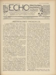 Echo Pracownika Śląskiego, 1933, R. 14, nr3