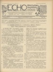 Echo Pracownika Śląskiego, 1933, R. 14, nr10