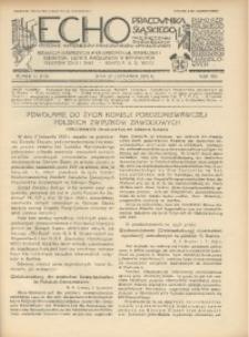 Echo Pracownika Śląskiego, 1933, R. 14, nr11