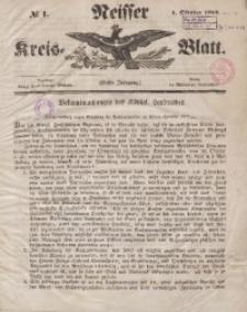 Neisser Kreis-Blatt, 1842, Jg. 1, nr1