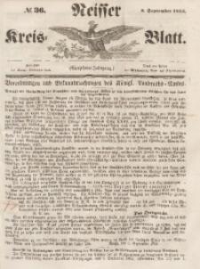 Neisser Kreis-Blatt, 1855, Jg. 14, nr36