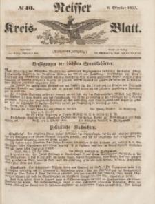 Neisser Kreis-Blatt, 1855, Jg. 14, nr40