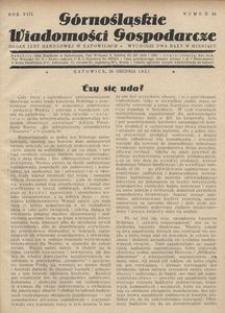 Górnośląskie Wiadomości Gospodarcze, 1931, R. 8, nr 24