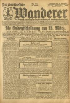 Der Oberschesische Wanderer, 1921, Jg. 94, Nr. 56