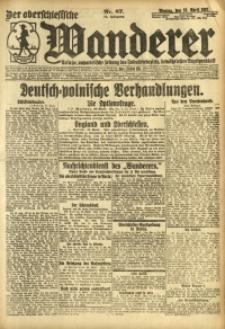 Der Oberschesische Wanderer, 1921, Jg. 94, Nr. 87