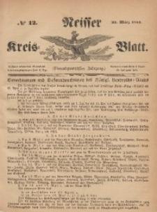 Neisser Kreis-Blatt, 1865, Jg. 24, nr12