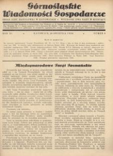 Górnośląskie Wiadomości Gospodarcze, 1934, R. 11, nr 8
