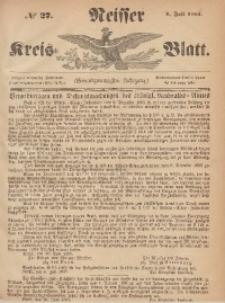 Neisser Kreis-Blatt, 1865, Jg. 24, nr27
