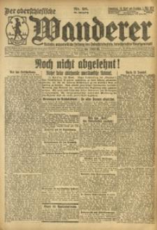 Der Oberschesische Wanderer, 1921, Jg. 94, Nr. 98