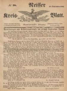 Neisser Kreis-Blatt, 1865, Jg. 24, nr38
