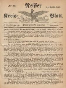 Neisser Kreis-Blatt, 1865, Jg. 24, nr45