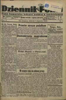 Dziennik Polski, 1938, Nry 1-51, 53, 63, 65-110, 112-149