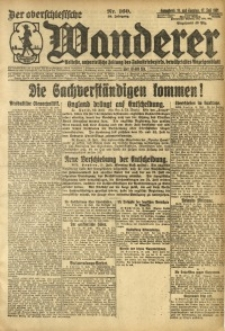 Der Oberschesische Wanderer, 1921, Jg. 94, Nr. 160