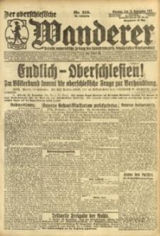 Der Oberschlesische Wanderer, 1921, Jg. 94, Nr. 210