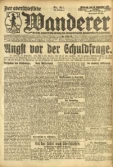 Der Oberschesische Wanderer, 1921, Jg. 94, Nr. 211