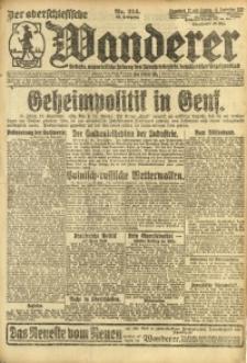 Der Oberschlesische Wanderer, 1921, Jg. 94, Nr. 214