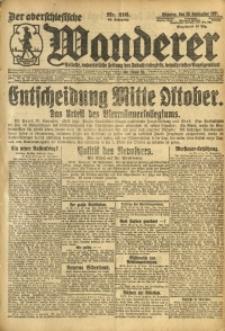 Der Oberschlesische Wanderer, 1921, Jg. 94, Nr. 216