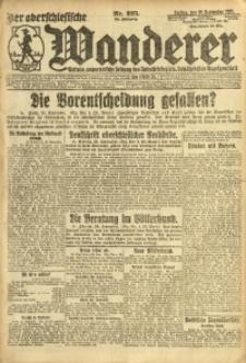Der Oberschesische Wanderer, 1921, Jg. 94, Nr. 225