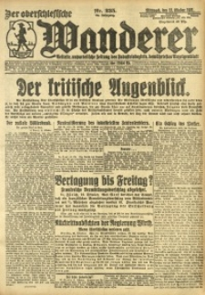 Der Oberschesische Wanderer, 1921, Jg. 94, Nr. 235