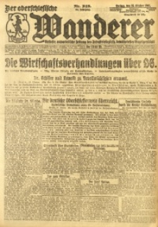 Der Oberschlesische Wanderer, 1921, Jg. 94, Nr. 249