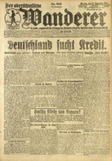 Der Oberschlesische Wanderer, 1921, Jg. 94, Nr. 267
